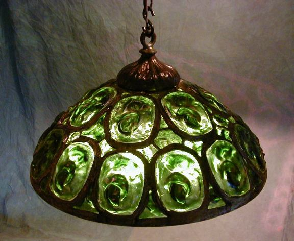 26 Turtleback Chandelier