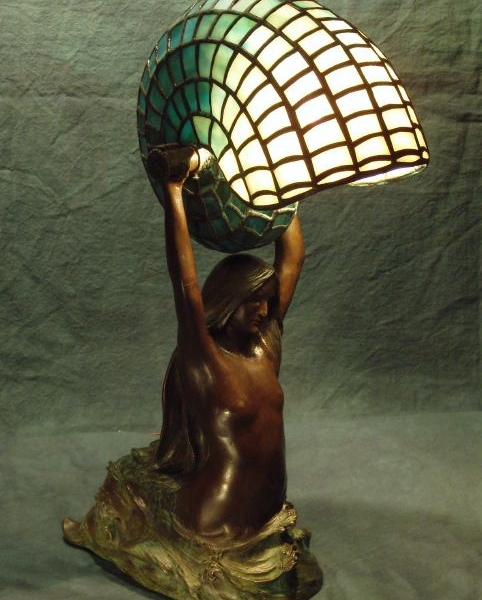Mermaid Lamp & Pottery Opening