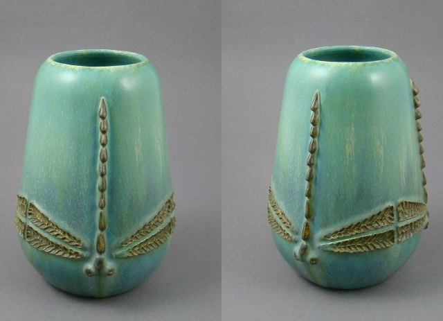 2010 Limited Edition Dragonfly Vase
