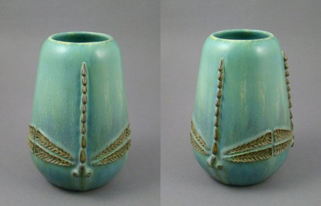 Limited Edition Dragonfly Vases