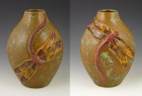 Limited Edition Dragonfly Vase #13