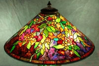 28″ Trumpet Vine Shade Completed