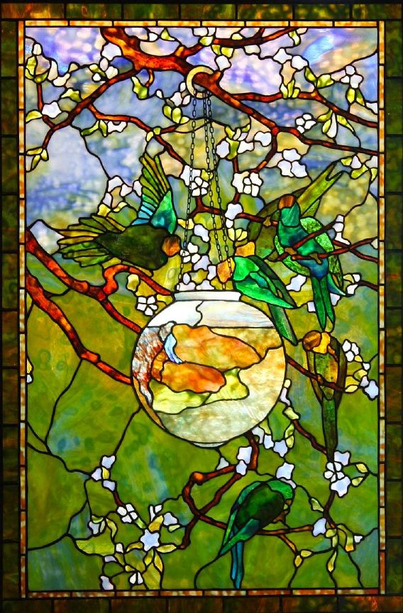 Fish Glass Painting Designs