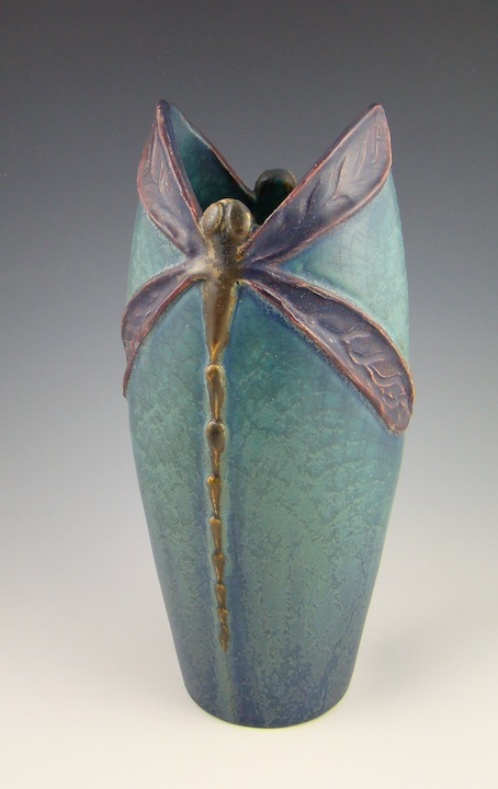 2013 Limited Edition Dragonfly Vase
