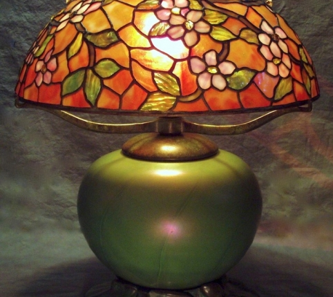Lamp of the Week: 16″ Apple Blossom
