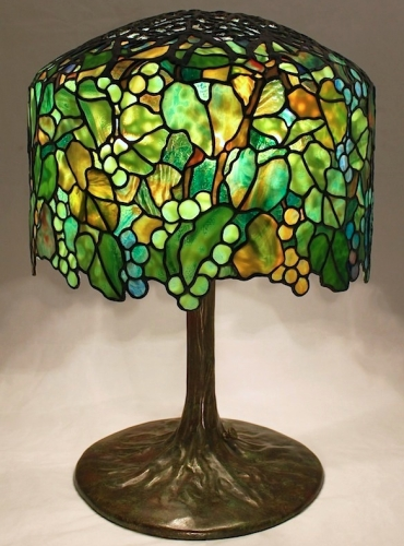 "18"" Grape Lamp - Created in 2014"