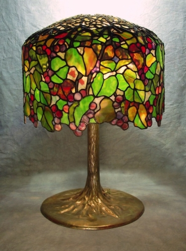 "18"" Grape Lamp - Created in 1987"