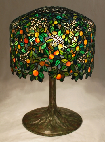 "18"" Calamondin Orange on Tree Trunk Base - Century Studios Original Design"