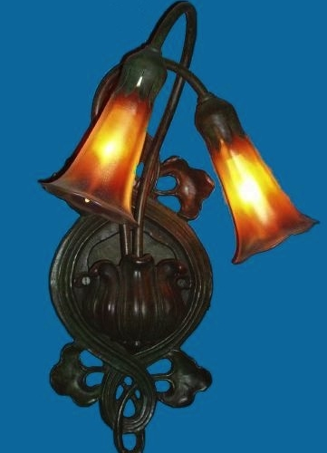 2 Light Lily Wall Sconce