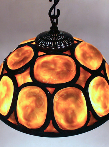 "20"" Turtleback Chandelier"