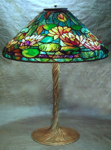 "20"" Waterlily on Twisted Vine Base - Created in 2008"