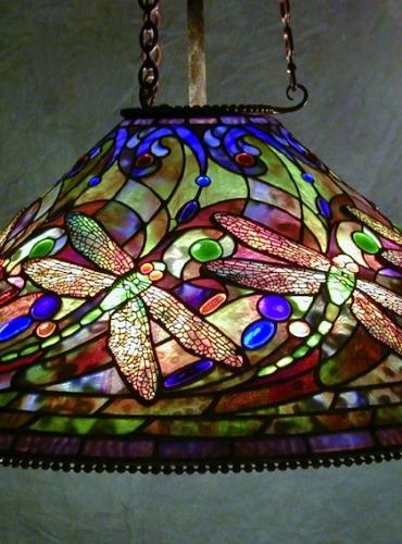 "28"" Dragonfly Chandelier - Created in 1996"