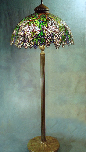 Large lamps 28 wisteria on senior floor base aloadofball Choice Image