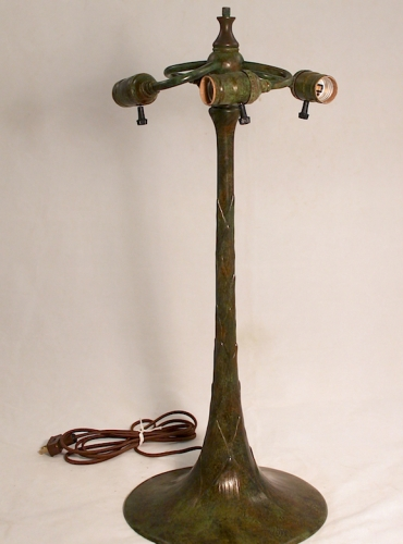 "Artichole Trumpet Base - 24"" Tall"