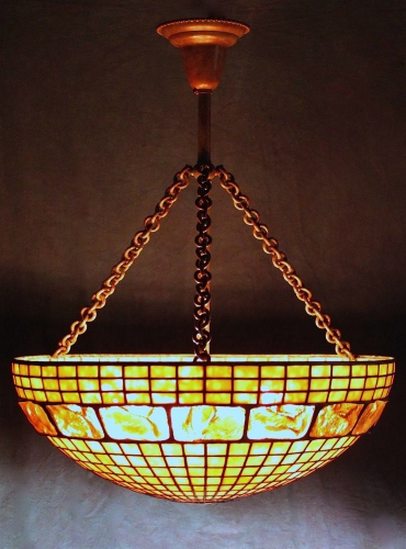 Chandelier - 3 Chain Fixture - Length Varies - For Shades Over 20""