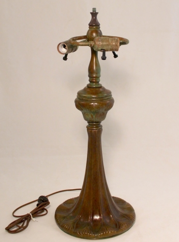 """Trumpet Decorated Base - 21"""" Tall"""