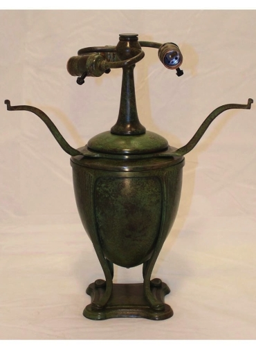"Greek Urn Base - 14"" Tall to Armset"