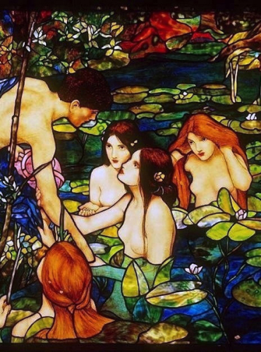 Hylas and the Nymphs - Created in 2001