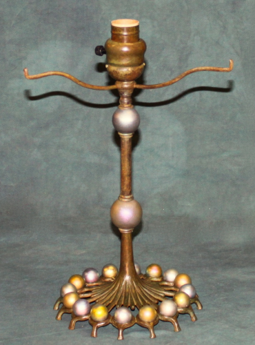 "Lustre Ball Base - 12"" Tall to Armset"