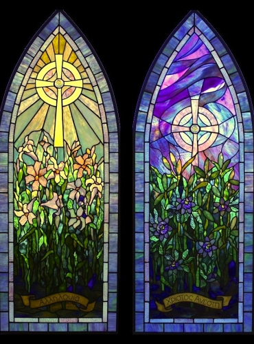 Easter Windows - Created in 2015