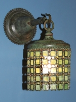 Chain Mail Wall Sconce & 16″ Turtleback