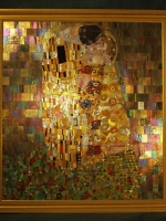 Mosaic of the Week: The Kiss