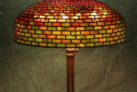 Lamp of the Week: 22″ Geometric Brickwork