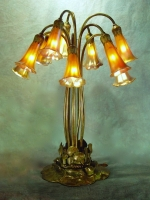 Lamp of the Week: 10 Light Lily Table Lamp