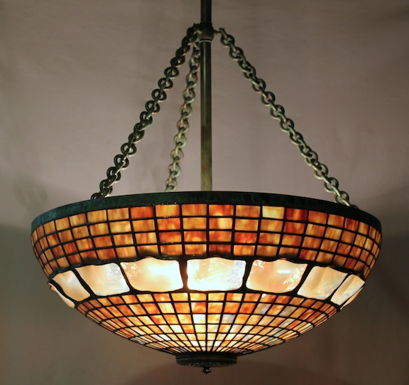 22″ Turtleback Chandelier