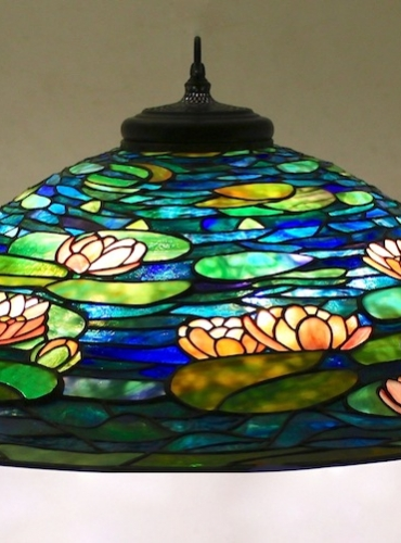 "36"" Pond Lily Chandelier"