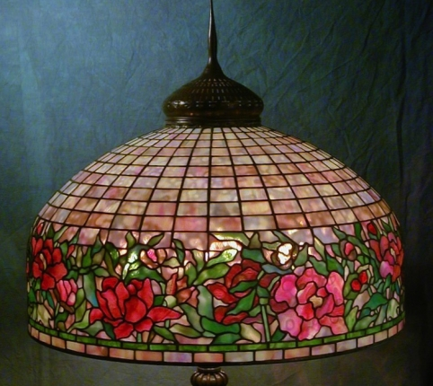 Lamp of the Week: 24″ Border Peony