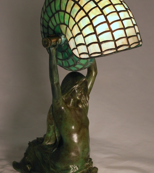 Lamp of the Week: Mermaid with Nautilus Shell