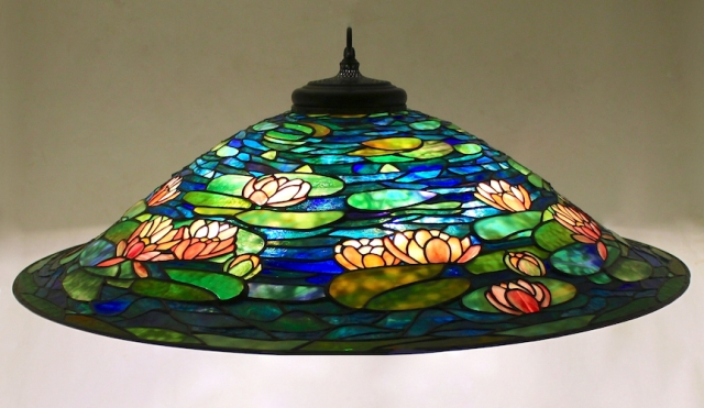 Lamp of the Week: 36″ Pond Lily Chandelier