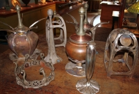 Century Studios Lamp Bases and Metalwork