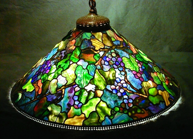 Lamp of the Week: 28″ Grape