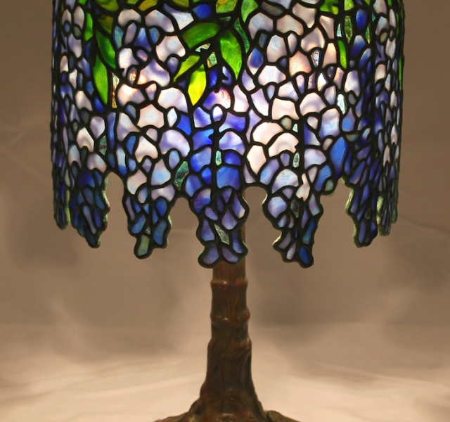 Lamp of the Week: 10″ Pony Wisteria