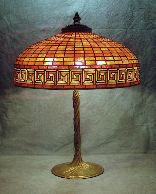 Lamp of the Week: 22″ Greek Key
