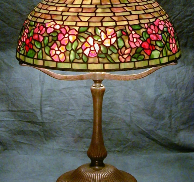 Lamp of the Week: 16″ Wild Rose
