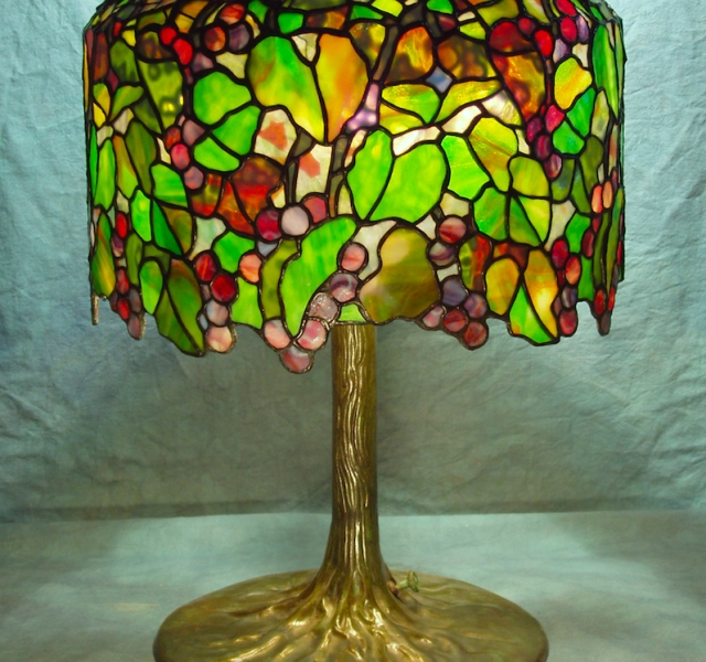 Lamp of the Week: 18″ Grape