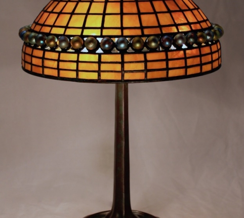 Lamp of the Week: 14″ Geometric with Lustre Balls