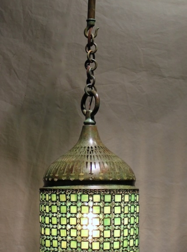 "9"" Chain Mail Lantern - Minimum Length 25"" (no chain)"