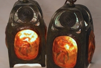 Turtleback Hanging Lanterns