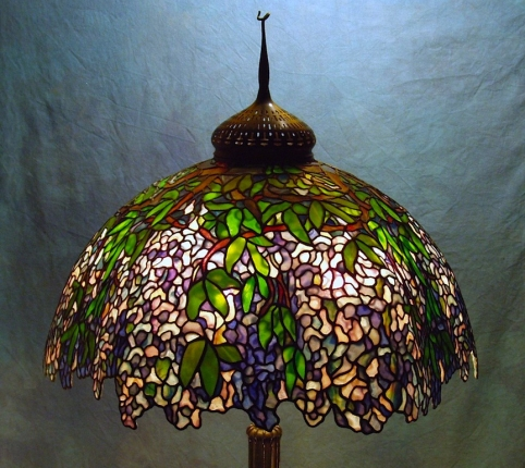 Lamp of the Week: 28″ Wisteria