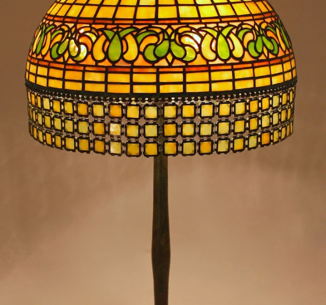 Lamp of the Week: 16″ Persian Shade with Chain Mail