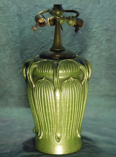 "7 Handled Pottery Base - 22"" Tall"