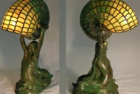 Lamp of the Week: Mermaid with Nautilus