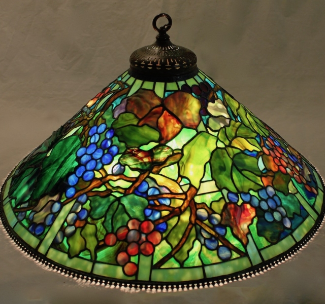 Lamp of the Week: 28″ Grape Trellis