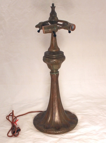 "Trumpet Decorated Base - 22"" Tall"