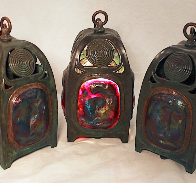Turtleback Lantern Trio