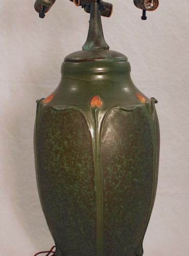 "Monumental Budding Leaf Urn - 29"" Tall"